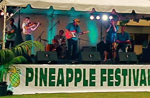 Haiku Hillbillys @ Lana'i Pineapple Festival photo by Wayne Westcott